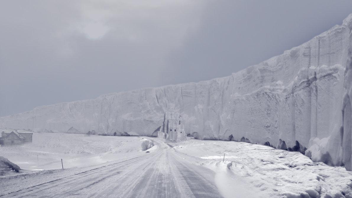 El muro de hielo de Walsh...