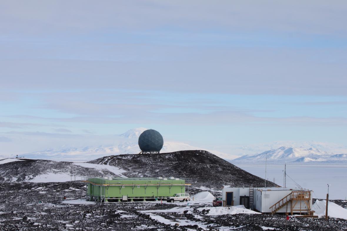 Arrival Heights, Área 122, Antártida