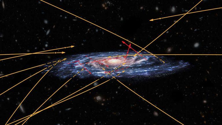 Astrónomos detectan dos estrellas acercándose a la Vía Láctea