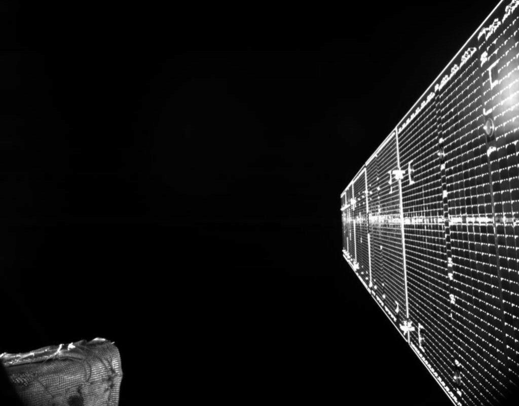 Primera imagen de BepiColombo desde el espacio