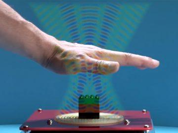 Científicos utilizan «rayos» de ultrasonido para levitar objetos