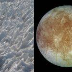 Cuchillas de hielo de 15 metros impedirían aterrizar en luna Europa