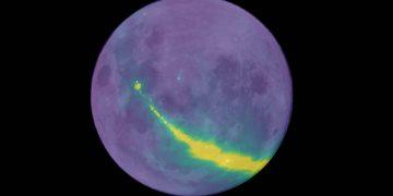Detectan ondas de radio rebotando en la Luna y provenientes de nuestra galaxia