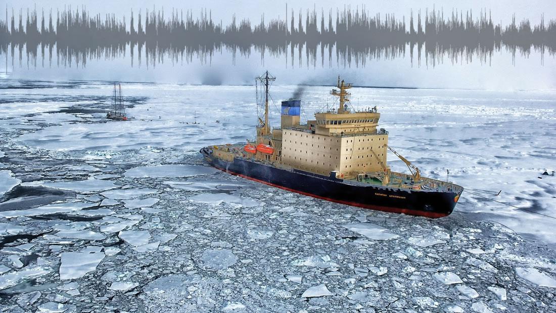 Detectan un extraño «sonido» proveniente de las profundidades de la Antártida