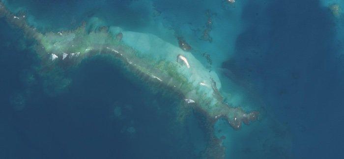 East Island luego del huracán Walaka