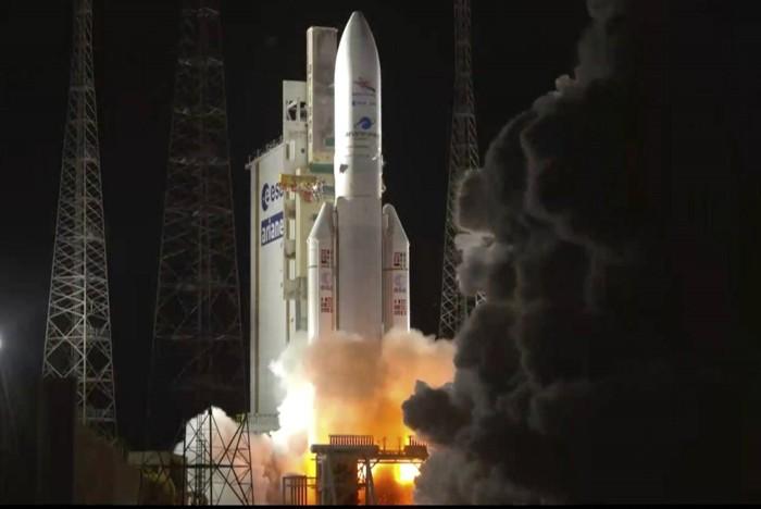 Lanzamiento de la nave espacial BepiColombo