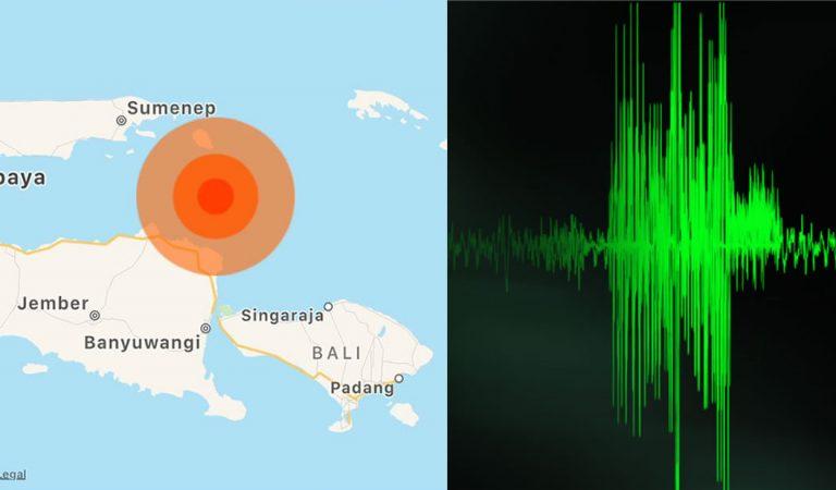 Fuerte terremoto sacude isla de Java, Indonesia