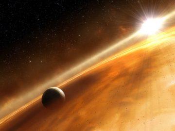 Hallan tres planetas gigantescos en un extraño sistema solar