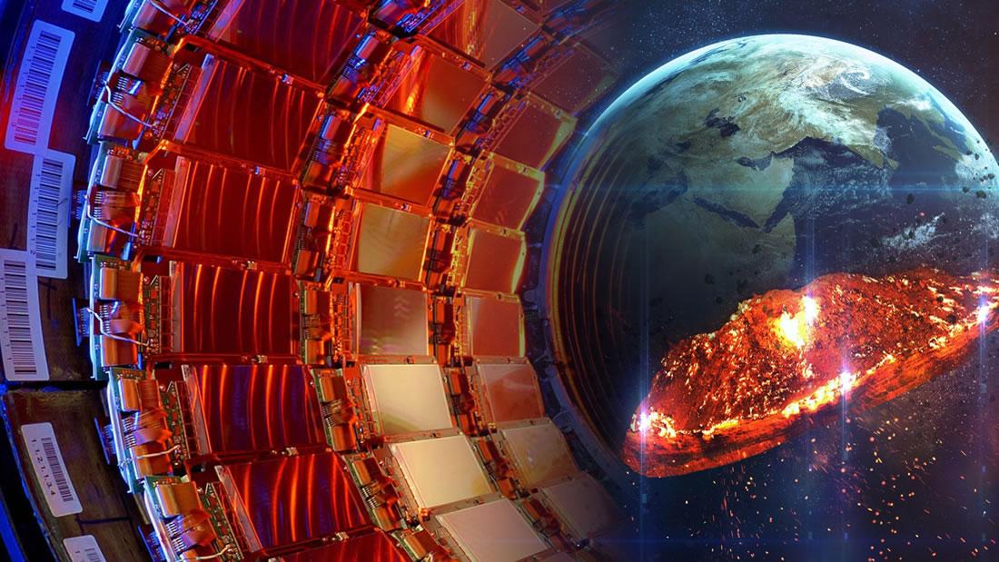 La Tierra podría ser aplastada hasta el tamaño de un campo de fútbol por los experimentos con aceleradores de partículas, advierte astrónomo