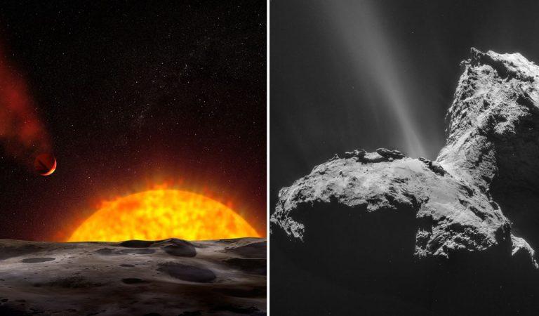 Los ingredientes claves para la vida pueden haberse originado en el espacio