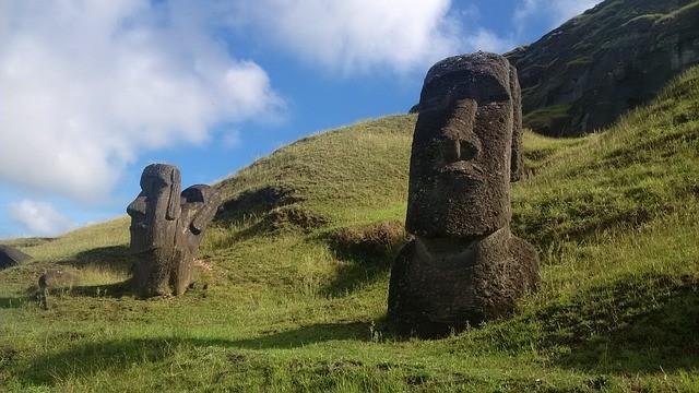 De acuerdo a una reciente investigación, los moai de la Isla de Pascua parecen haber sido colocados en lugares donde existía agua potable