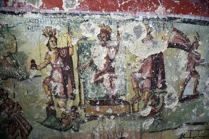 Zeus Capitolin entre las dos Capitolias y la Fortaleza Marítima de Cesarea
