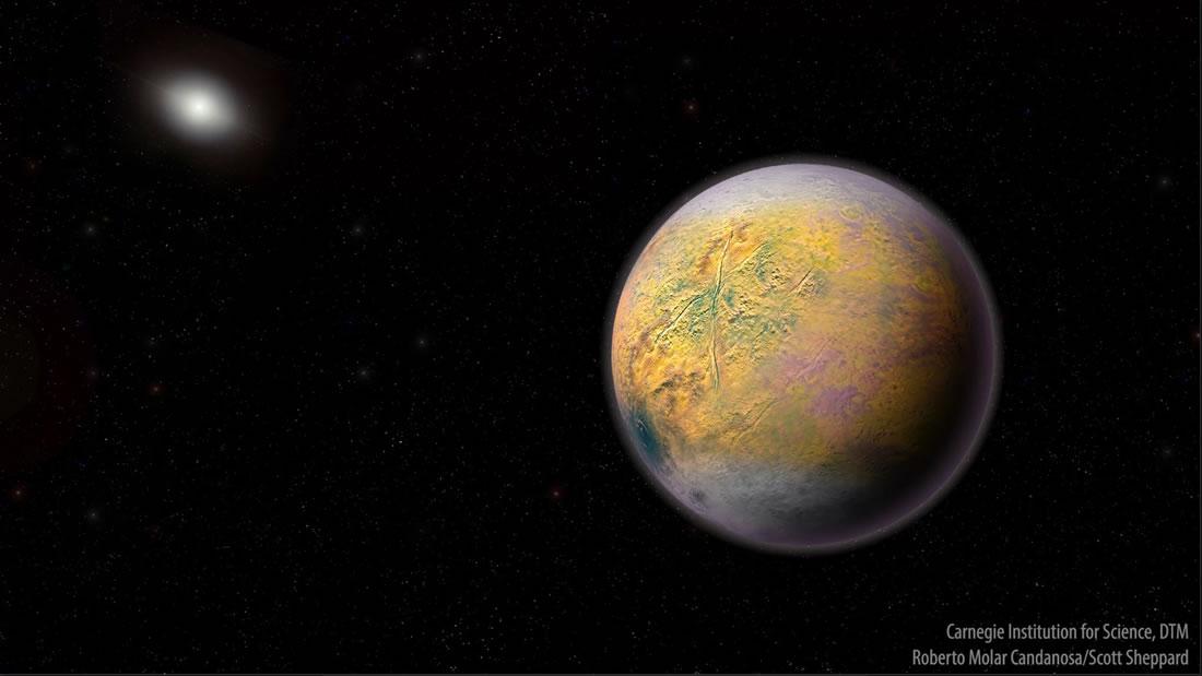 Nuevo planeta hallado en el borde del sistema solar incrementa evidencia del Planeta Nueve