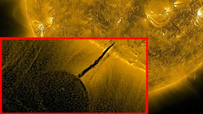Supuesto objeto de tamaño colosal obteniendo energía del Sol