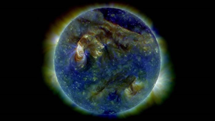 Ejemplo de plasma en la atmósfera terrestre