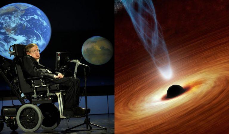 Publican el último trabajo de Stephen Hawking referido a los agujeros negros