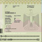 Ramsés II tuvo un pasaporte luego de 3.000 años de muerto, y lo necesitó para trasladar su momia a Francia