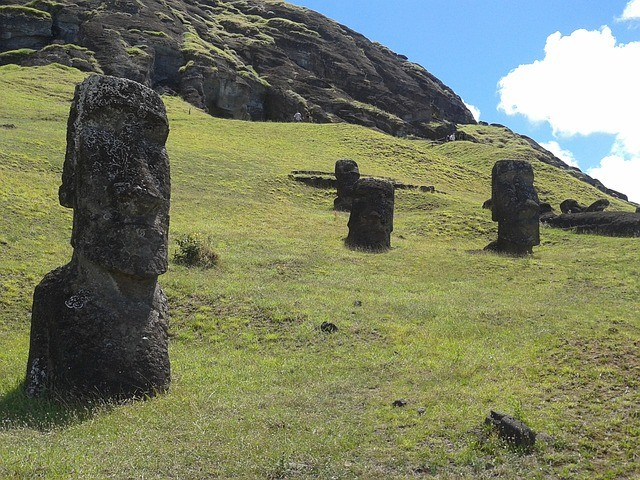 Carl Lipo, investigador con casi 20 años estudiando la Isla de Pascua, dijo: «El patrón fue sorprendente en su consistencia. Incluso cuando encontramos moais en el interior de la isla, encontramos fuentes cercanas de agua potable. Eso fue una verdadera sorpresa»