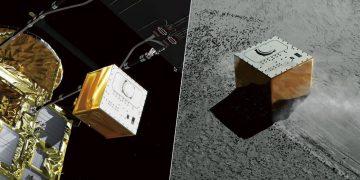 Sonda espacial japonesa aterriza un tercer robot en un asteroide