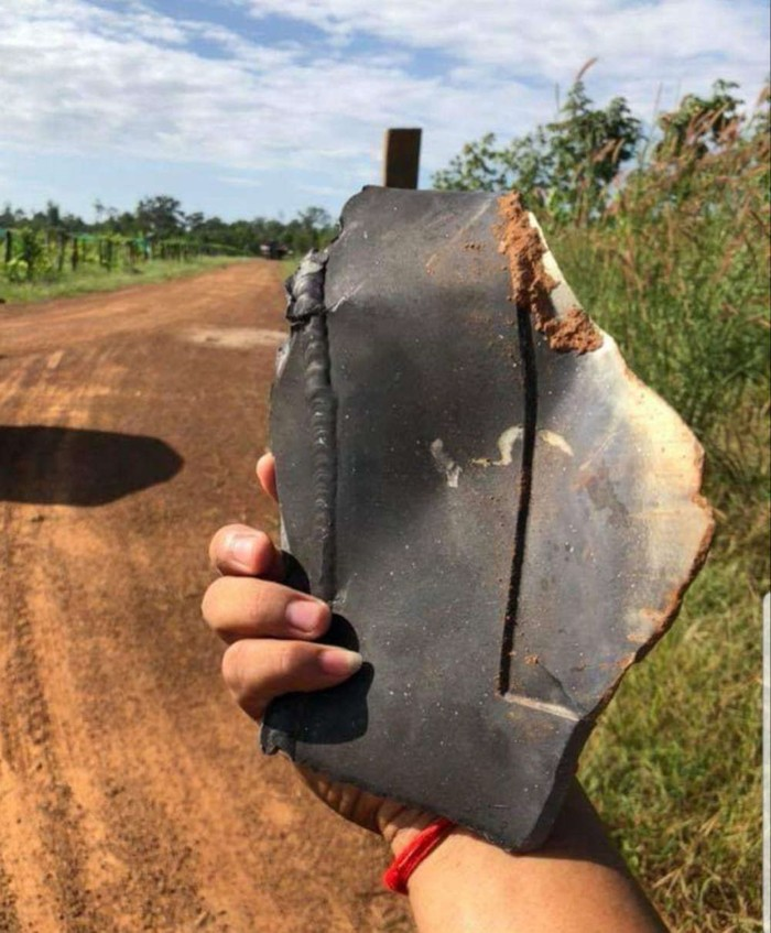 Los fragmentos caídos dañaron edificios en un radio de 10 kilómetros. Afortunadamente, nadie resultó herido