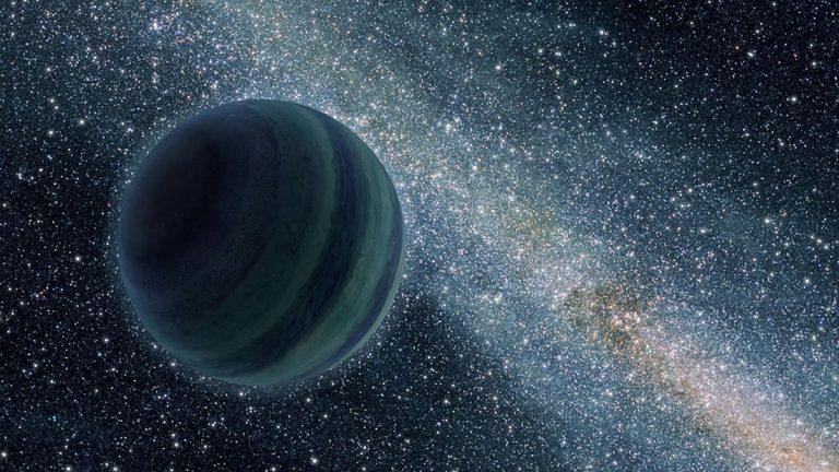 Un «noveno planeta» salvó a la Tierra de ser expulsada del Sistema Solar