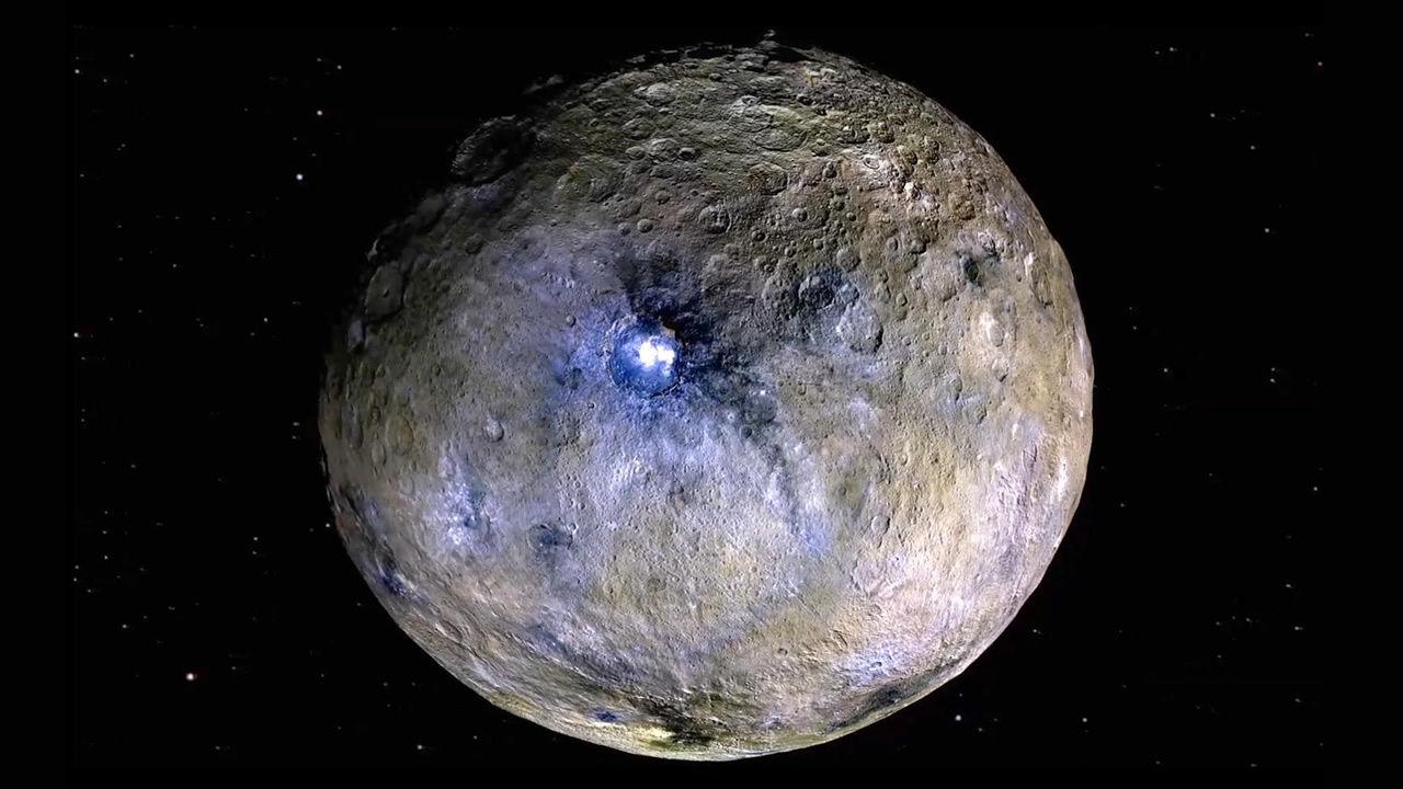 Un cambio polar en Ceres evidencia la presencia de un océano antiguo