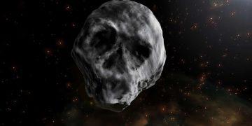 Un «cometa muerto» con forma de cráneo se acercará luego de Halloween