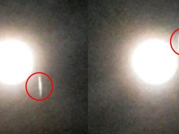 ¿Un OVNI gigantesco pasa cerca de la Luna? Un reciente vídeo parece mostrarlo