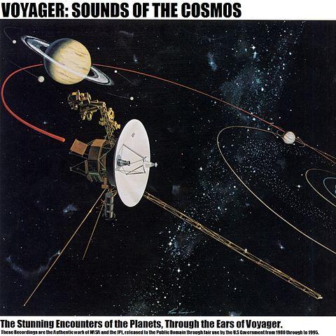 Cubierta de Voyager: Sonidos del Cosmos