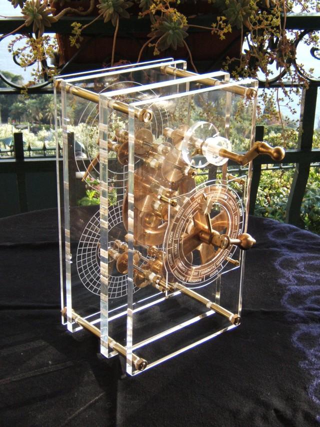 Reconstrucción moderna del Mecanismo de Antikythera