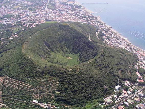 Supervolcán Campi Flegrei