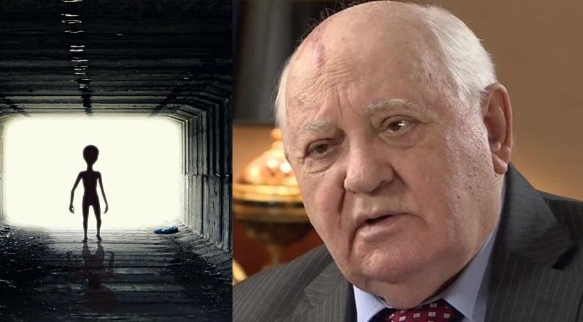 El ex presidente de la ex URSS, Mijail Gorbachov, era consciente de la existencia de vida extraterrestre