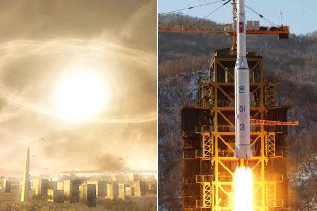 El EMP podría ser causado con la detonación de una bomba nuclear en la atmósfera