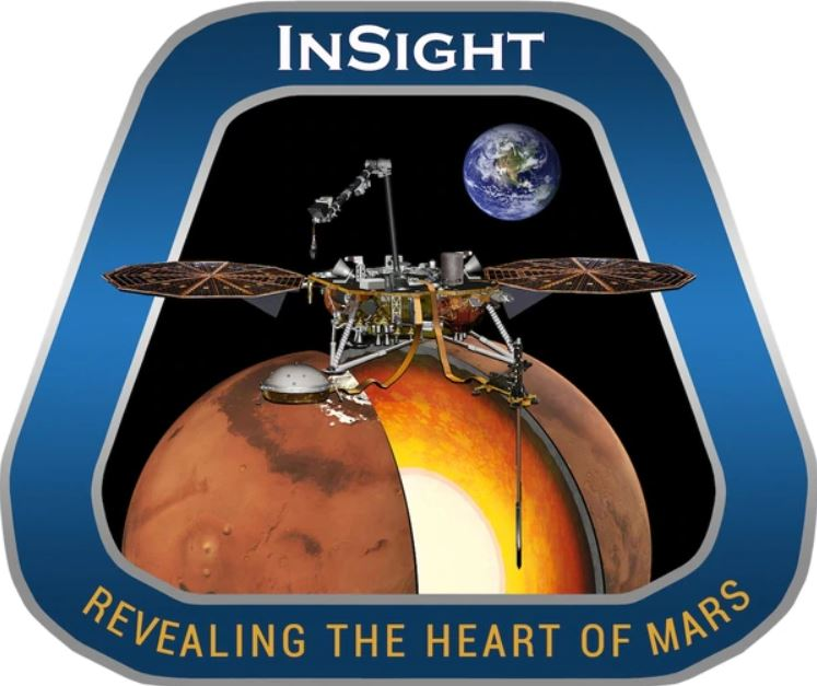 Logo de la misión Insight a Marte