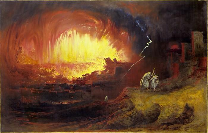 La destrucción de Sodoma y Gomorra
