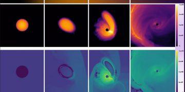 Agujeros negros podrían «revivir» estrellas muertas