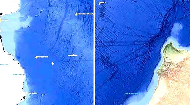 Misteriosas líneas en el lecho marino podrían tratarse de túneles subterráneos, según un investigador
