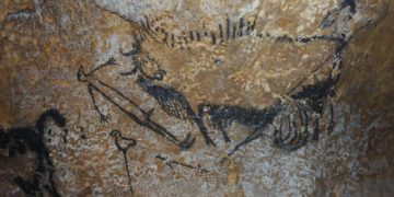 Arte prehistórico muestra humanos utilizando astronomía compleja