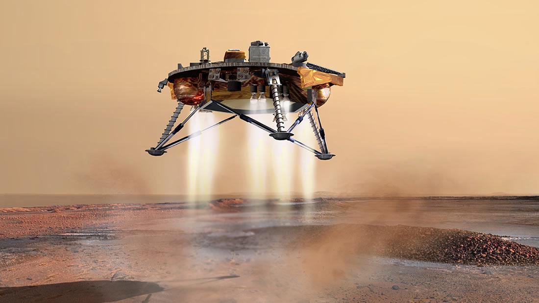 Así puedes ver el aterrizaje en Marte este Lunes