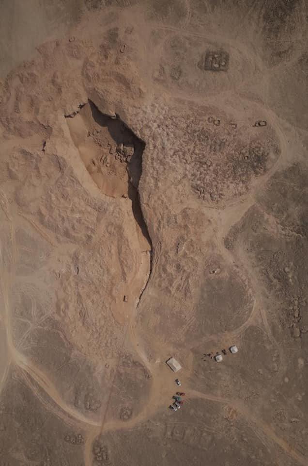 Antigua cantera de alabastro de Hatnub, situada al este de Amarna y en la gobernación de Menia