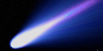 Descubren un cometa con dos colas que se acercará a la Tierra