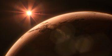 Enormes cañones en Marte fueron formados por lagos fluyendo en la superficie
