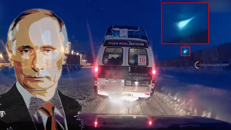 ¿Es esta la arma secreta de Vladimir Putin? Bola de fuego es vista sobre la «ciudad científica» de Rusia