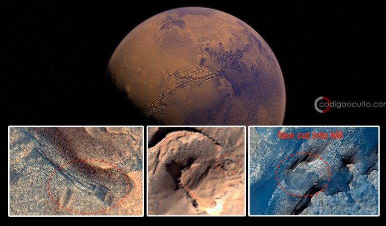 Estructuras antiguas en Marte prueban que alienígenas vivieron en el Planeta Rojo, afirma investigador
