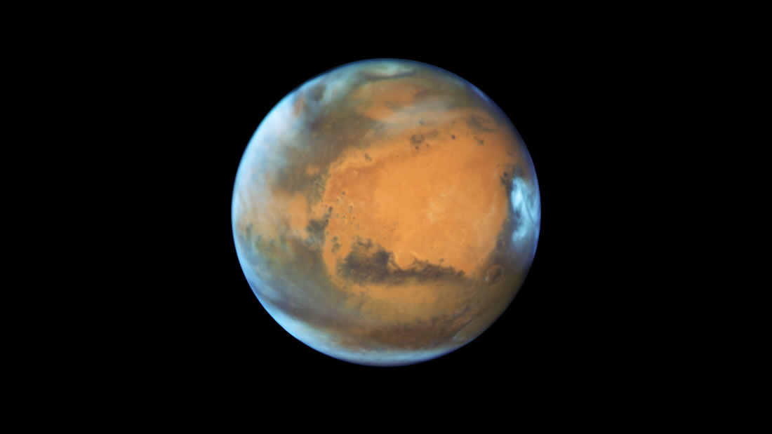 Hallan evidencias de una gran inundación en Marte ocurrida en el pasado