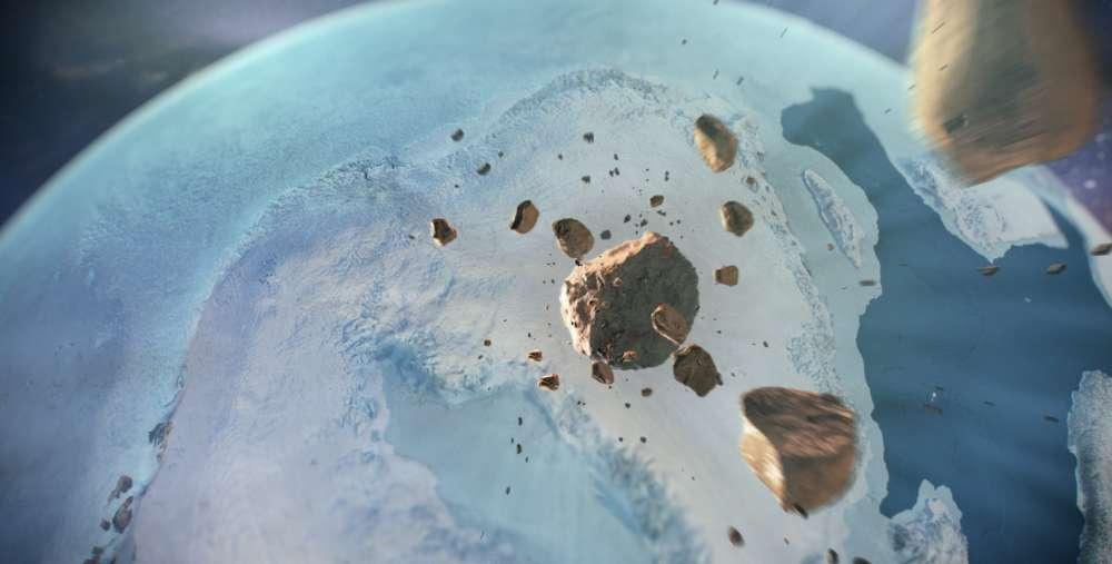 Algunos fragmentos del asteroide fueron hallados con anterioridad