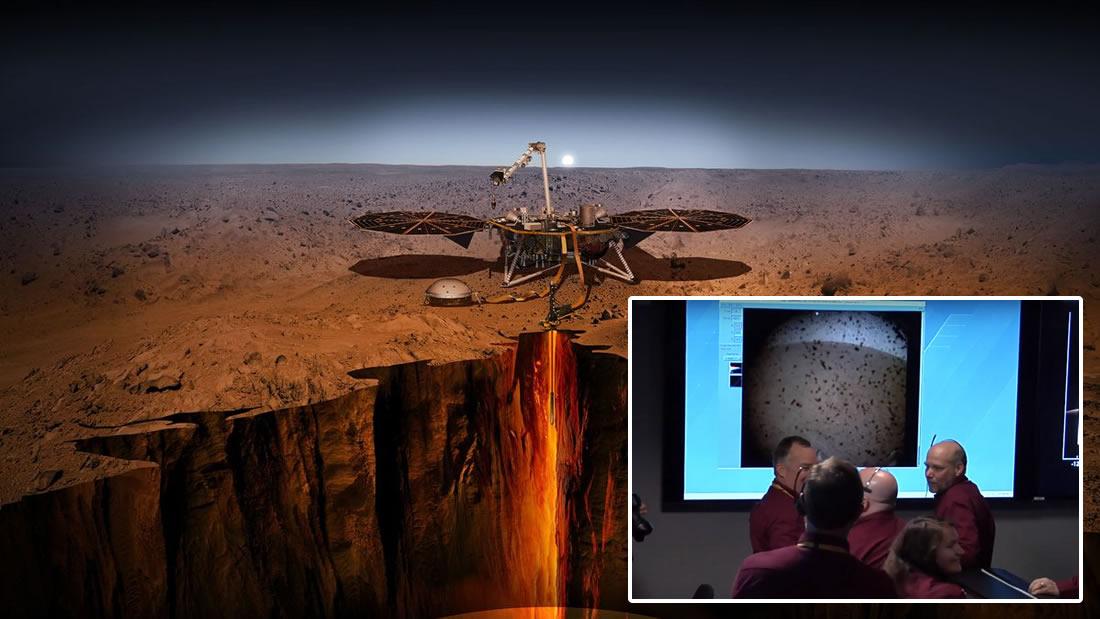 ¡Sonda Insight llega con éxito a la superficie de Marte!