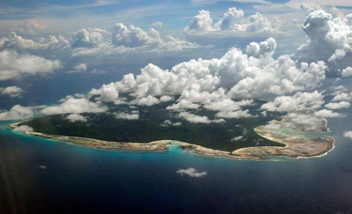 Isla Sentinel del Norte, el 14 de noviembre de 2005