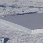 NASA descubre dónde se originó el iceberg cuadrado