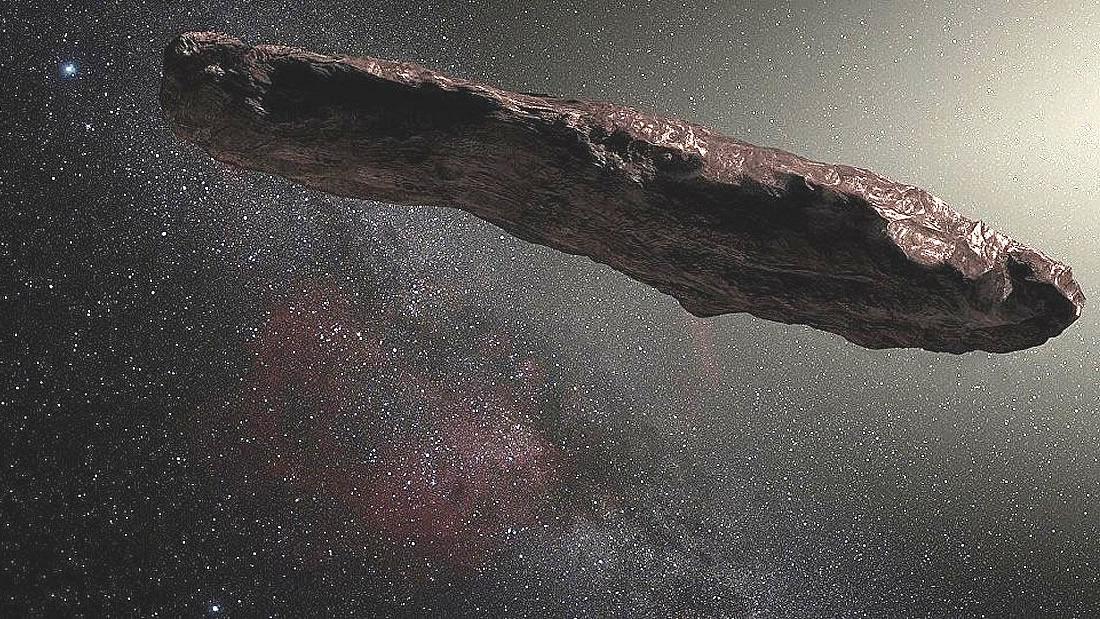 Oumuamua es más pequeño de lo que se creía y está cubierto de hielo y nieve